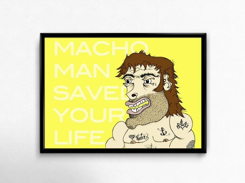 machoman poster