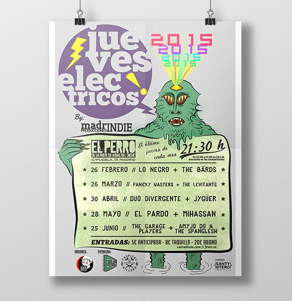 Jueves Electricos by Santy Otero